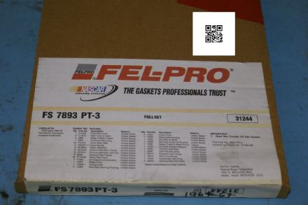 1964-1967 Cadillac Full Engine Gasket Set, Fel-Pro FS7893-3, New